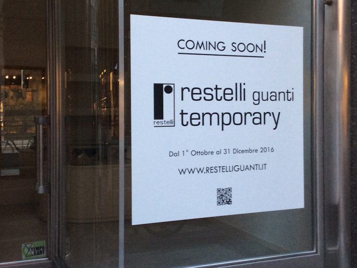Our Temporary shop opens Oct. 1