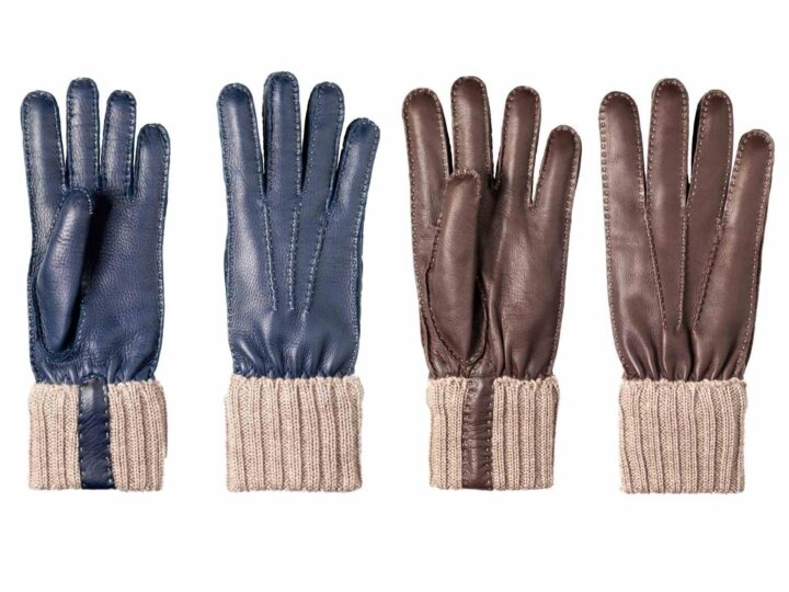 How is a glove made?